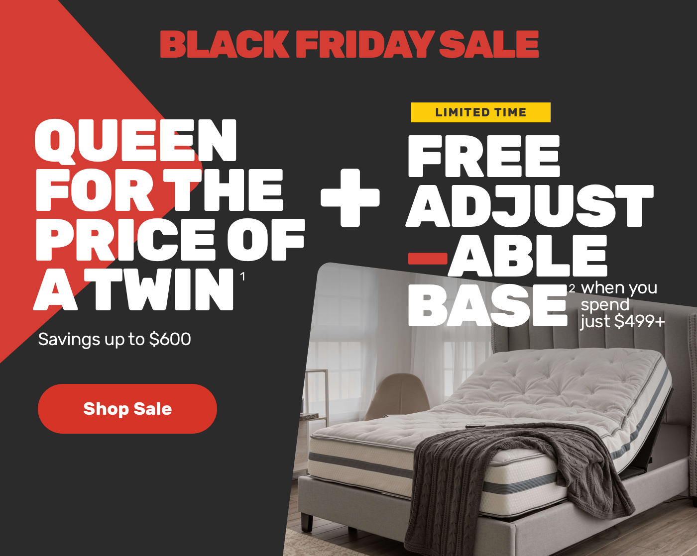 Mattress Firm: Black Friday Sale = the best bed deals!  Milled
