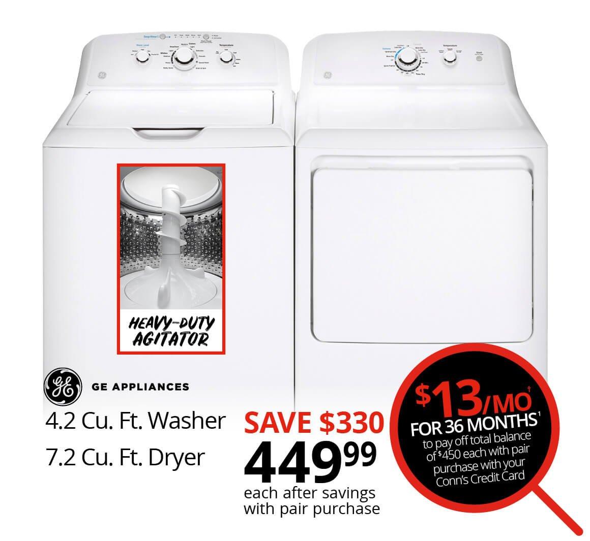 GE Washer & Dryer