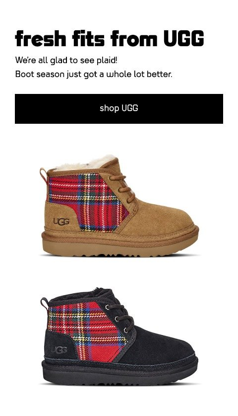 Kids Foot Locker: UGG boots for the win