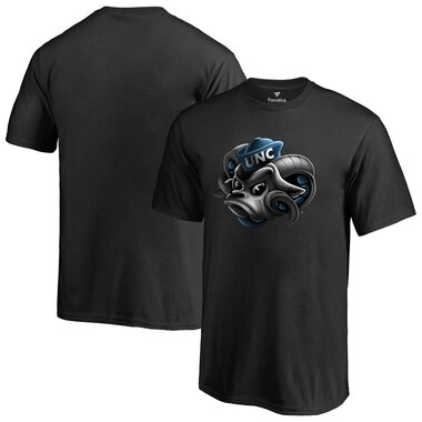 North Carolina Tar Heels Midnight Mascot T-Shirt - Black