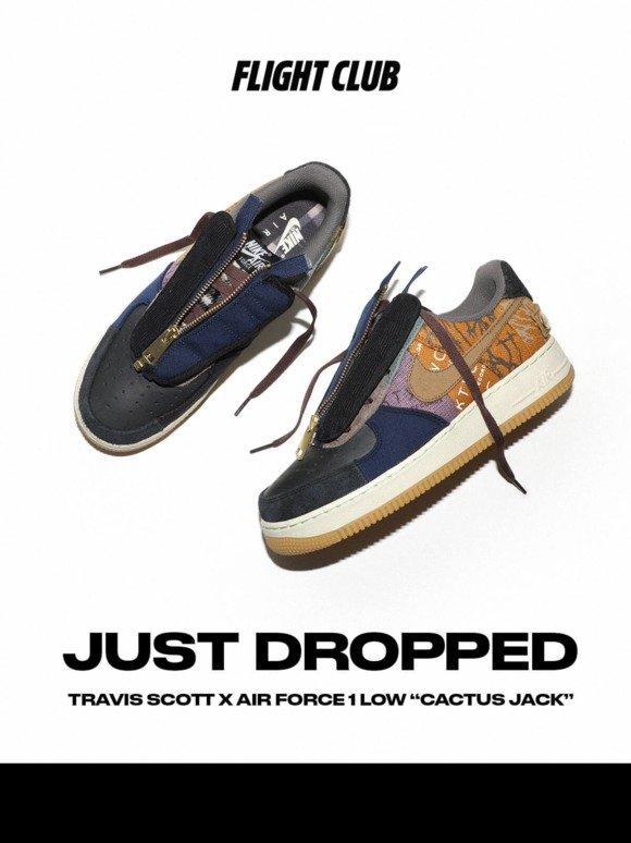 New Travis Scott x Air Force 1 Low