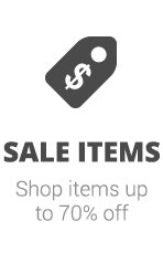 Shop Sale Items - Save up to 70% off sale items.