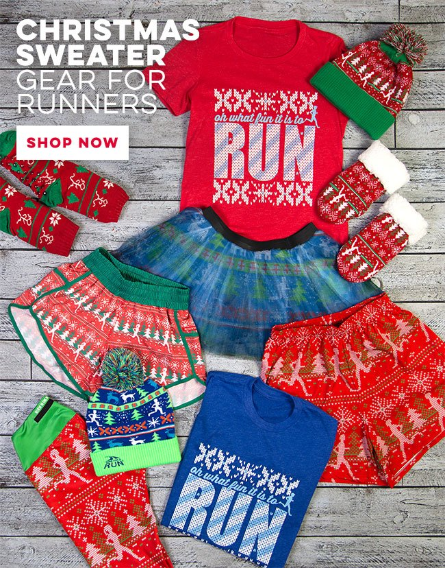Christmas Sweater Gear For Runners