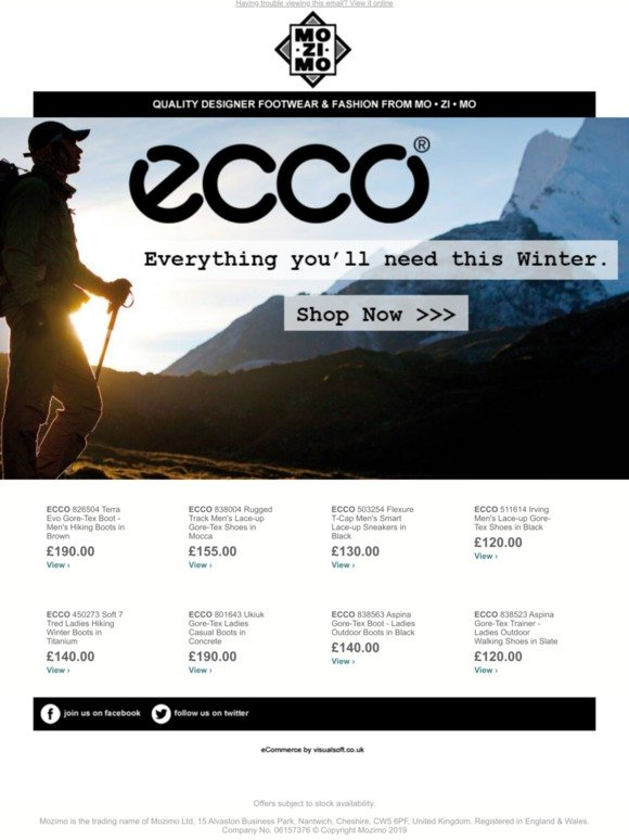 Ecco MozimoFasionableAnd Winter Shop Ready Our Full 8wmn0vON