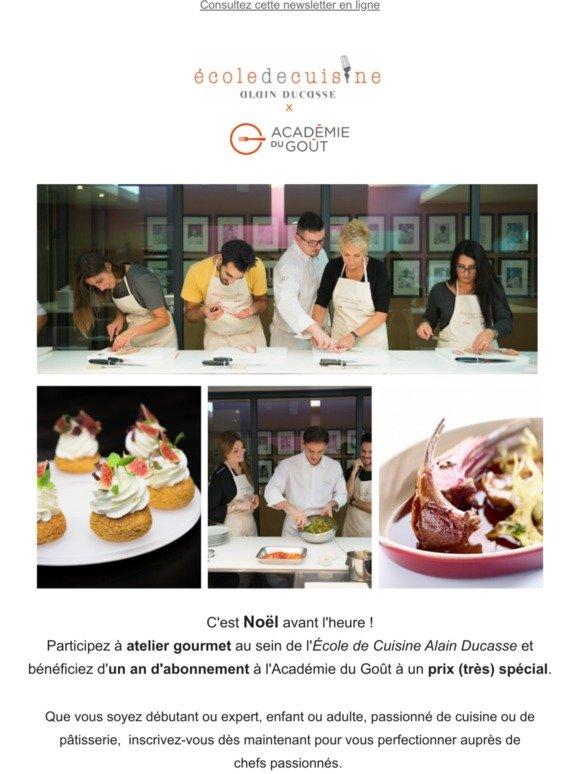 Academie Du Gout Votre Cours De Cuisine Avec Alain Ducasse Milled