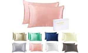 Two Mulberry Silk Pillow...