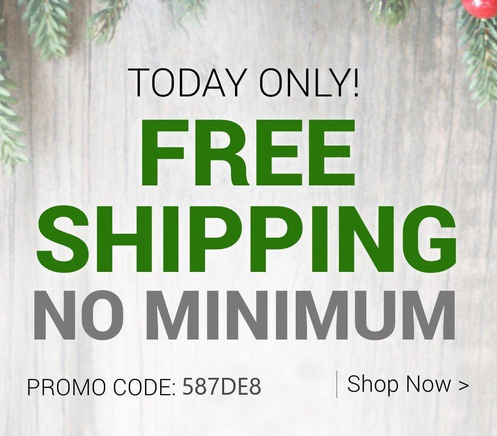 Free Ship No Min