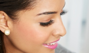 Lash Extensions with Fill