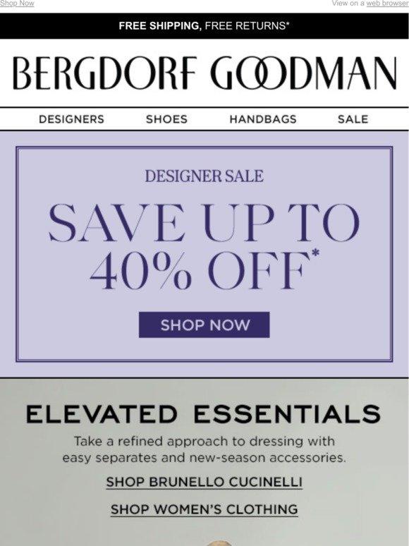 Shop Brunello Cucinelli's Refined Essentials + Save Up To 40% Off
