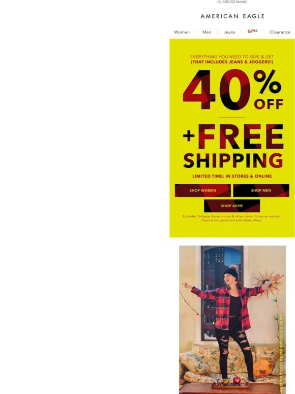 The BEST deals of the YEAR start NOW. 😱 40% OFF + FREE SHIPPING!