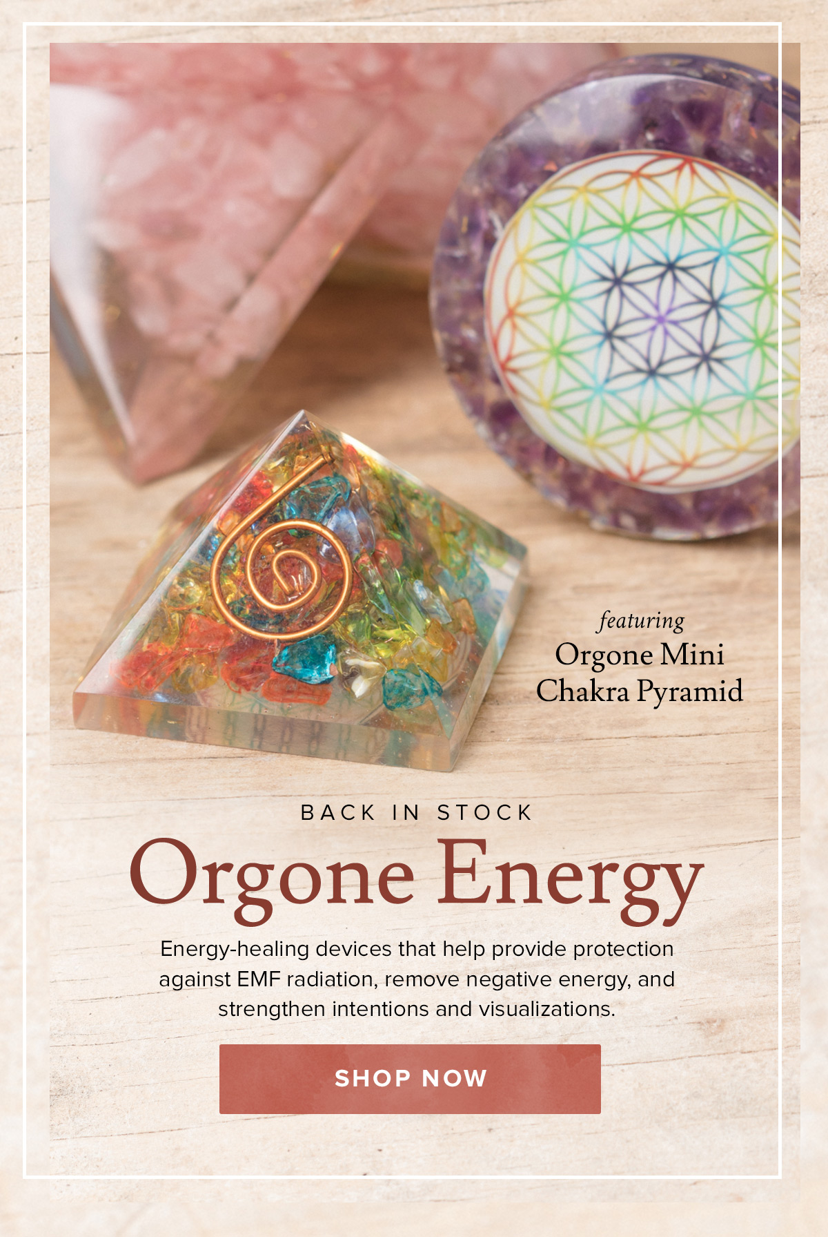 shop Orgone Collection