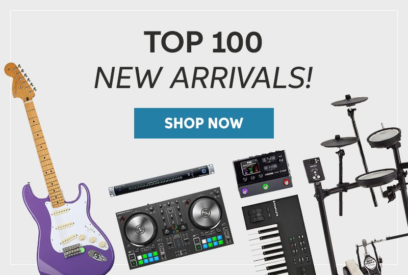 Top 100 New Arrivals