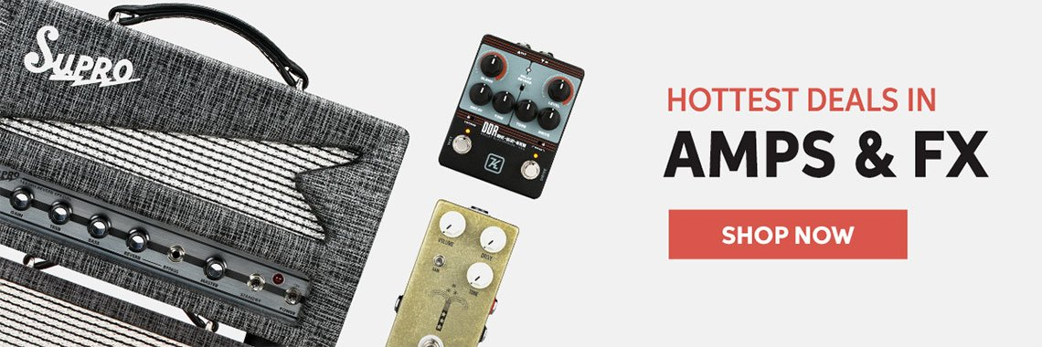 Hottest Deals In Amps & FX