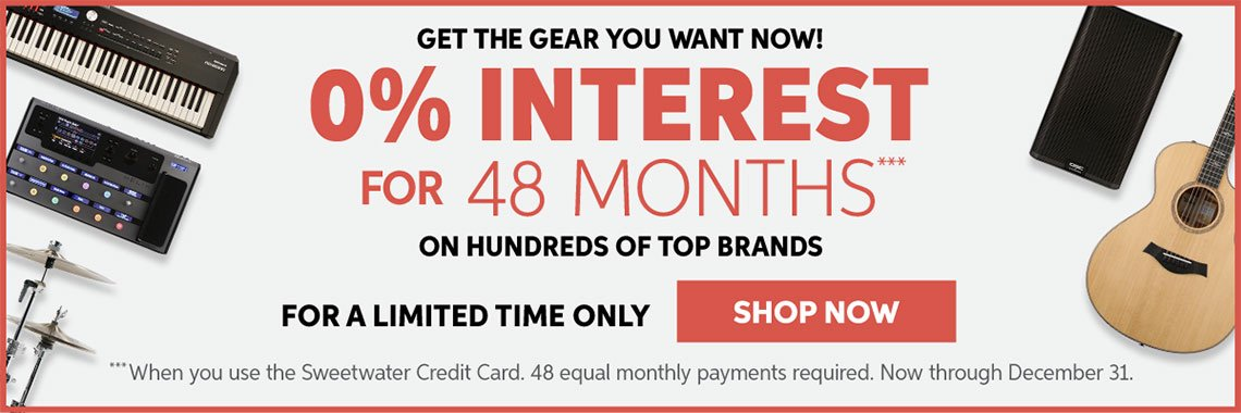 0% Interest For 48 Months*** On Hundreds Of Top Brands — Now Through December 31