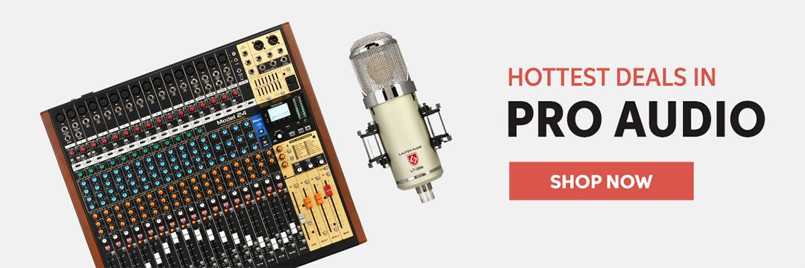 Hottest Deals In Pro Audio