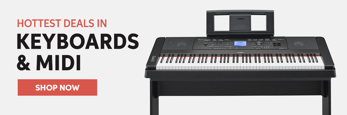 Hottest Deals In Keyboards & MIDI