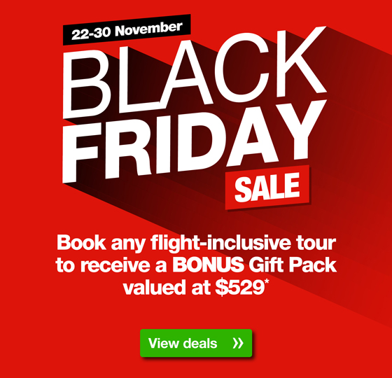Webjet com au: Black Friday Sale | Book any tour and receive