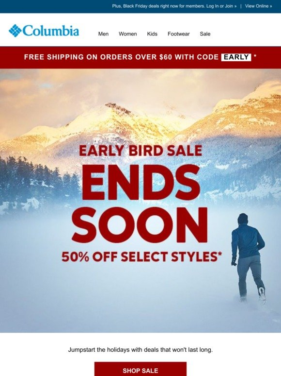 Columbia Sportswear: 50% off ends soon! Milled  Milled