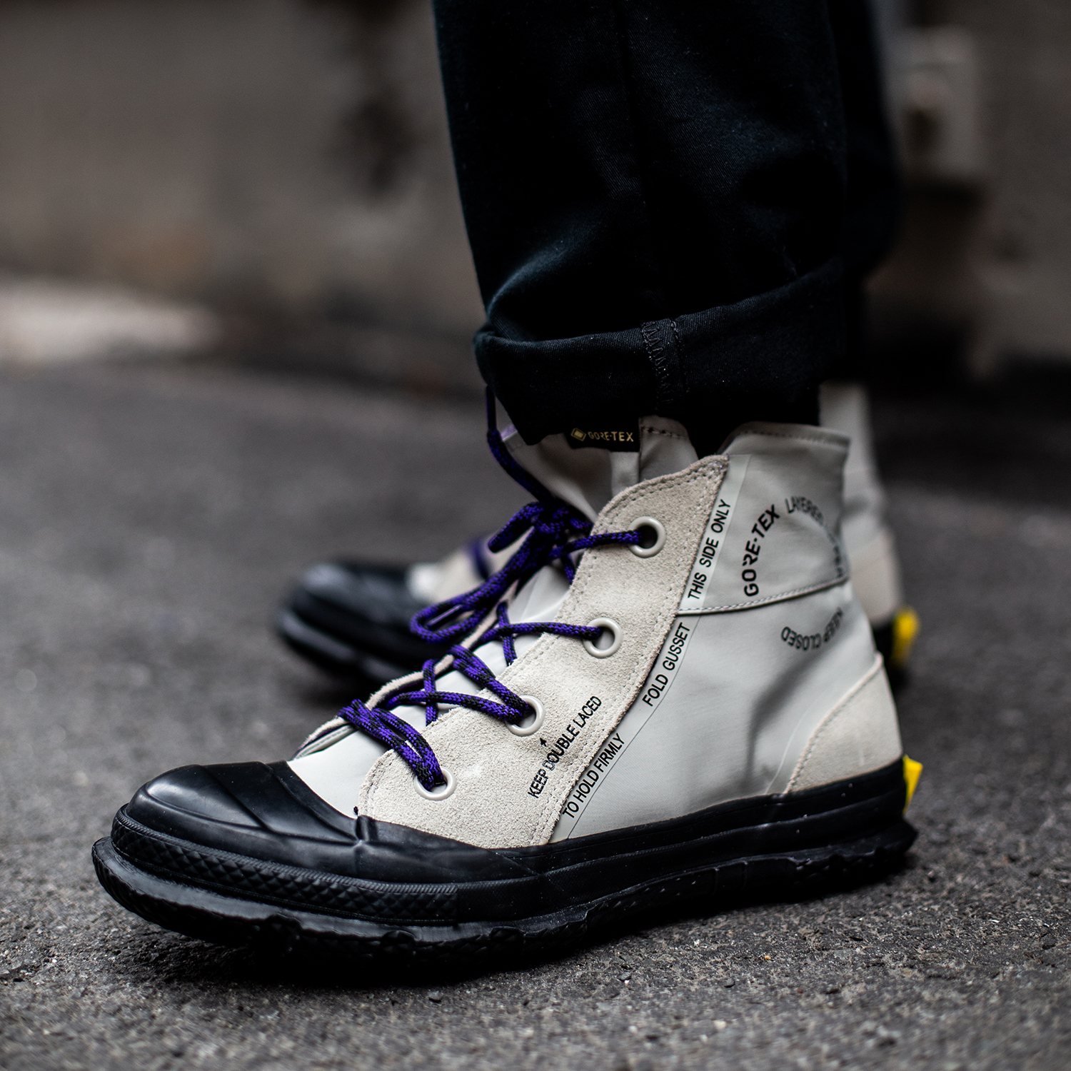 Off The Hook: Trend Report: Sneakers in the Snow???   Milled