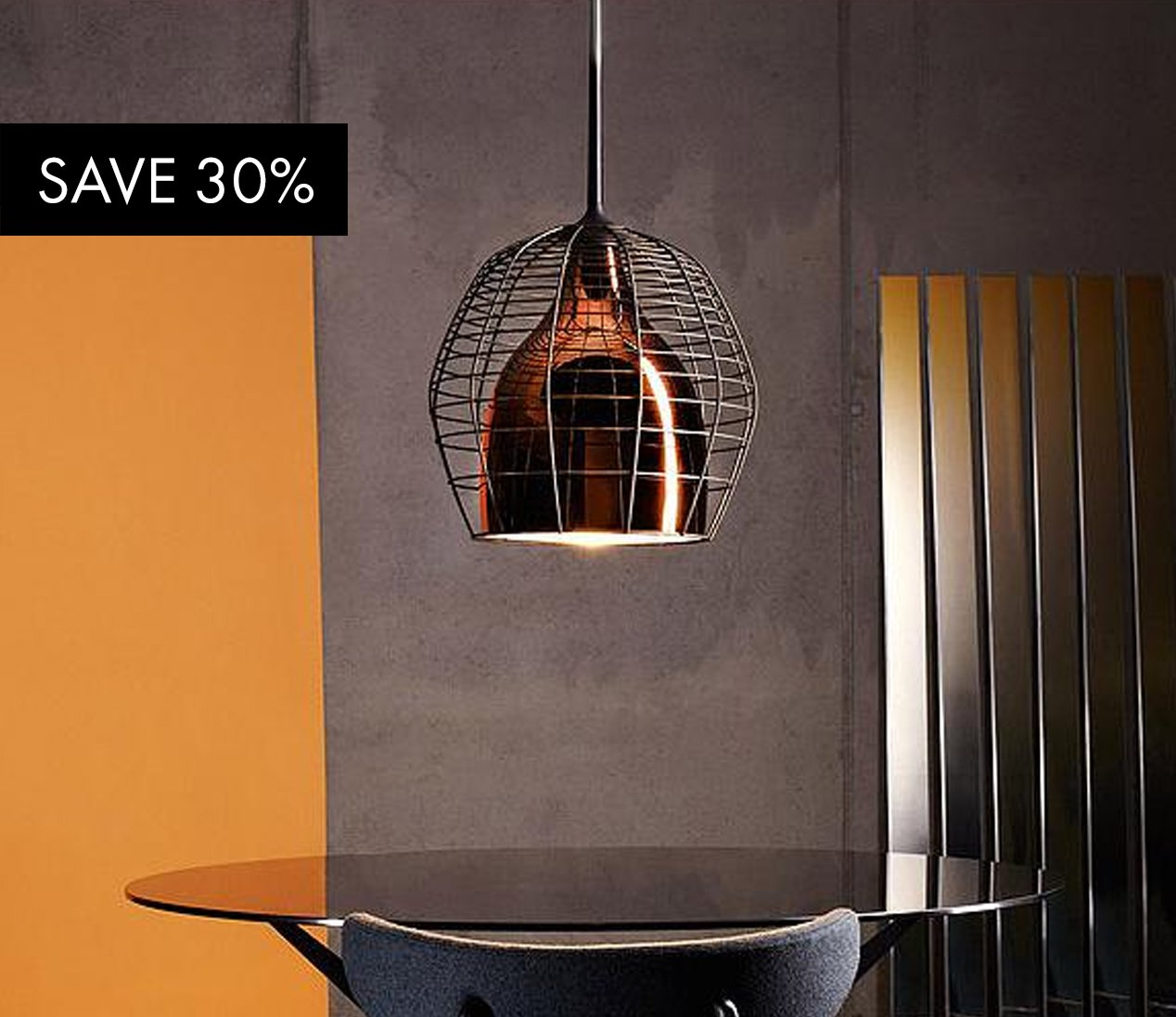 Y Lighting Save 30 On Cage Suspension Lamp From