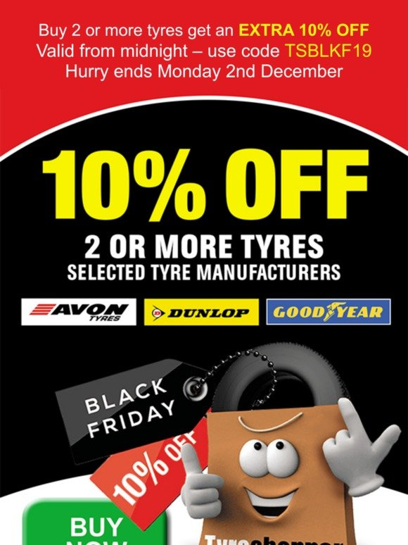 Tyre Shopper Black Friday Discount At Tyre Shopper Limited Time Only Milled