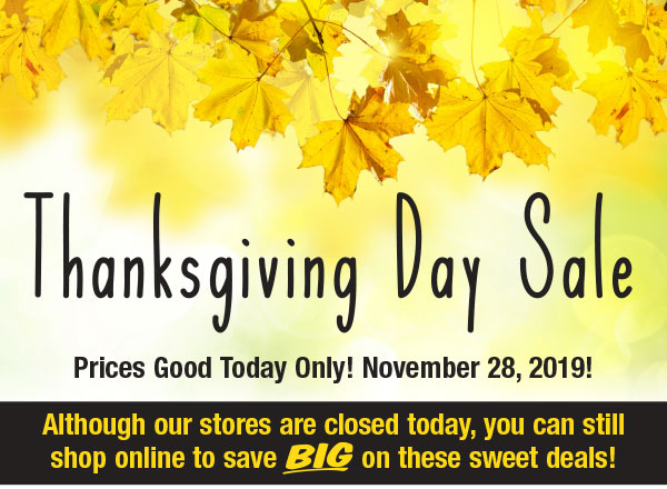 Menards Thanksgiving Day Sale Online Only Milled