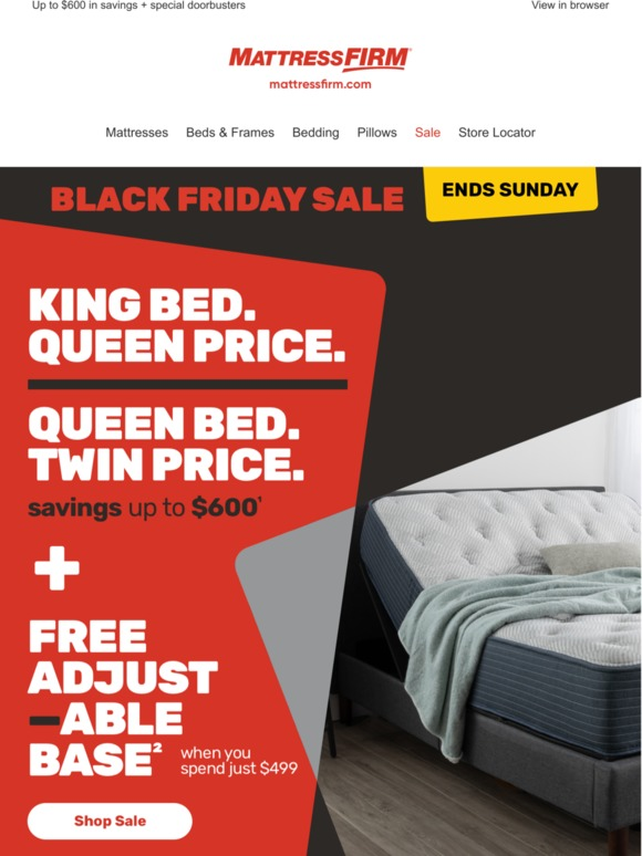 Mattress Firm Get Black Friday Deals Right Now Milled