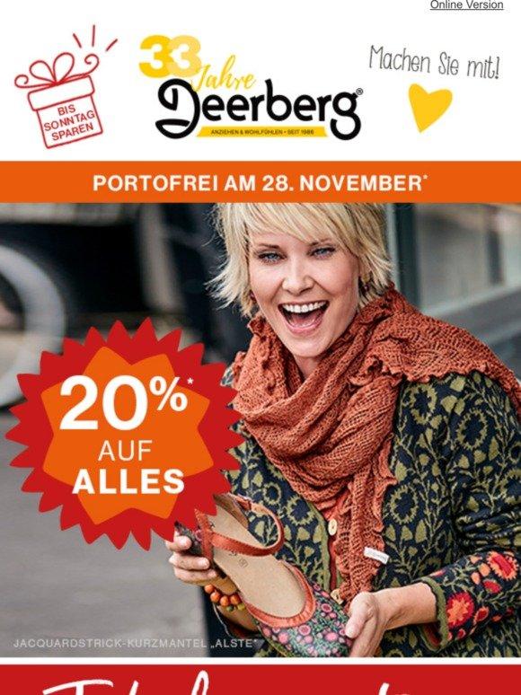 Deerberg Ihre Mode und Schuhe: Bis 50% reduziert