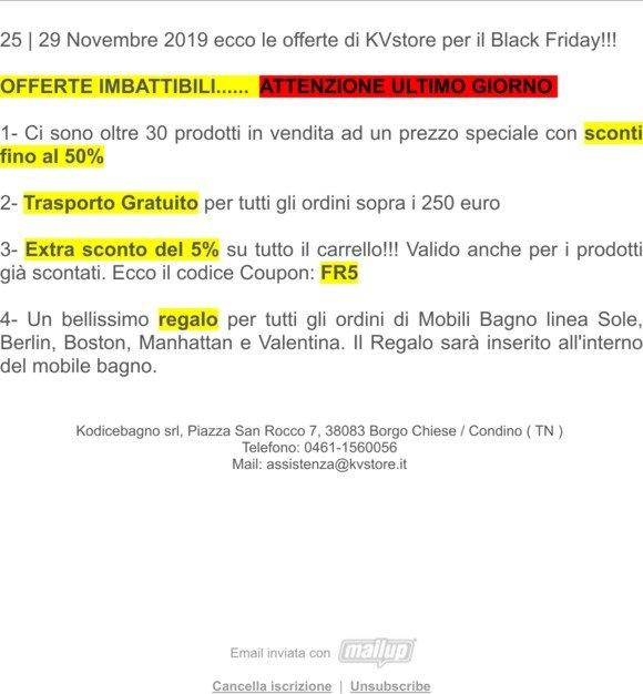 KVSTORE: KVstore: Ultimo giorno per le offerte dei Carpe ...
