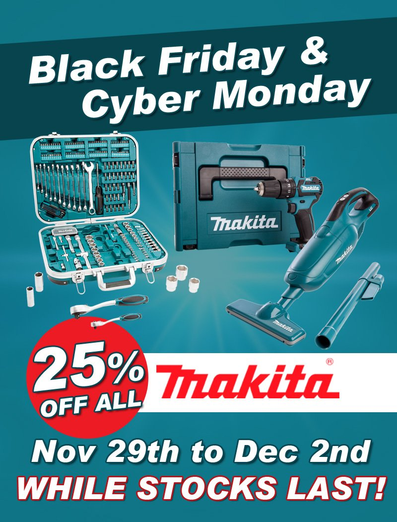 Beatsons Building Supplies Black Friday Today Is The Day Shop Our Amazing Makita Deals Now Milled