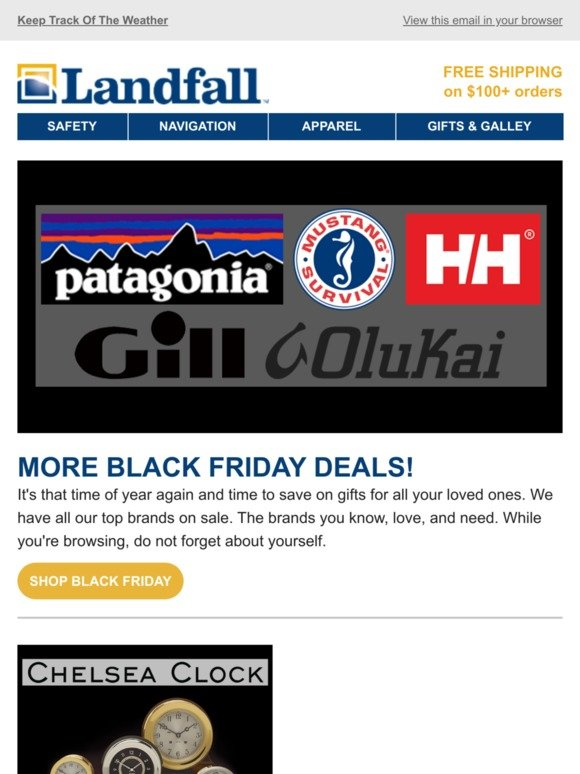 Landfall Navigation Email Newsletters Shop Sales Discounts And Coupon Codes Page 2