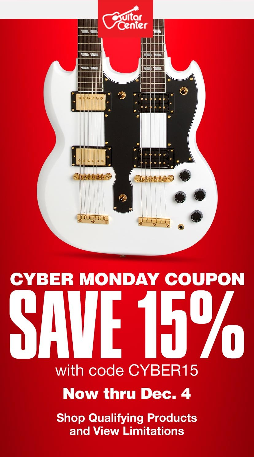 Guitar Center Cyber Monday Coupon Inside Milled