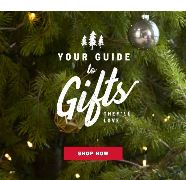 YOUR GUIDE TO GIFTS