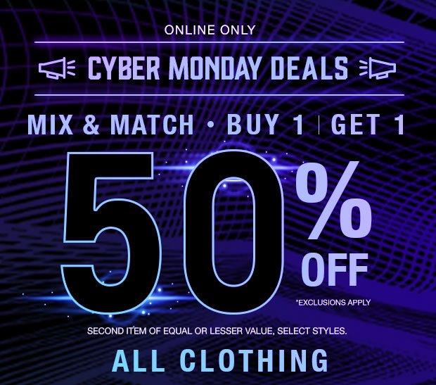 Tillys Com Bogo 50 Off All Clothing Cyber Monday Deals Milled