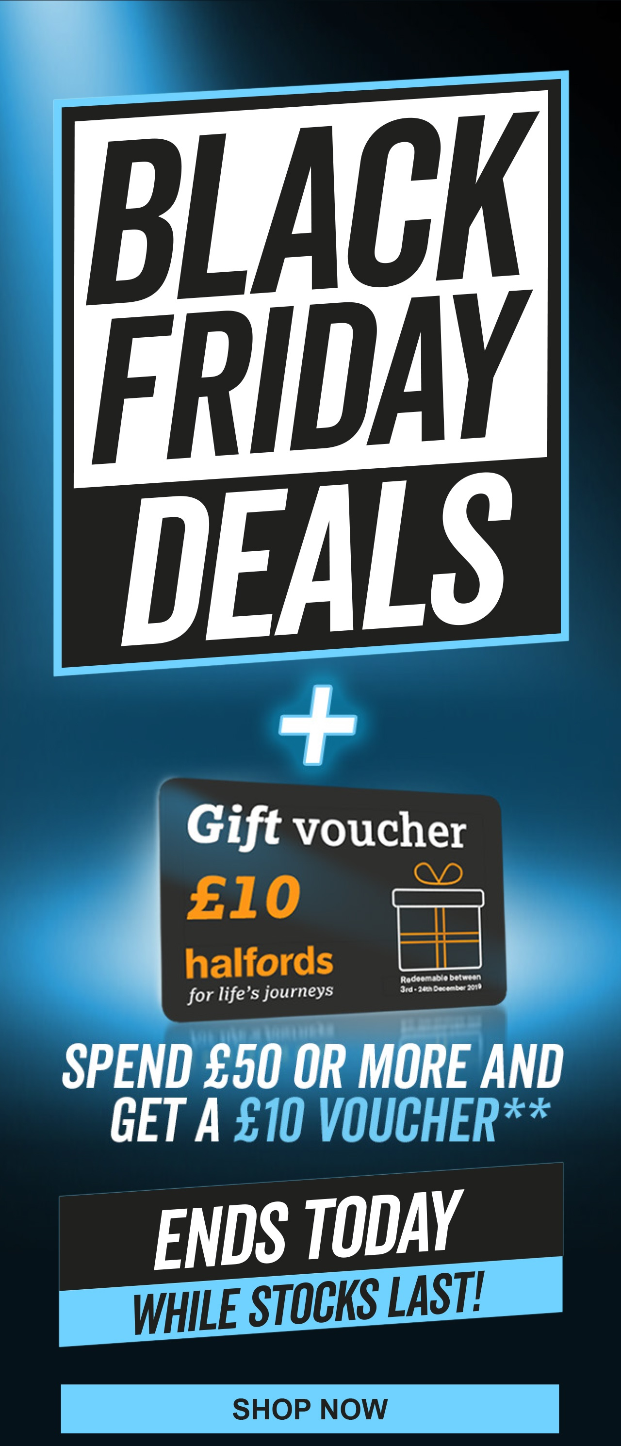 Halfords Last Chance Black Friday Deals End Today Milled