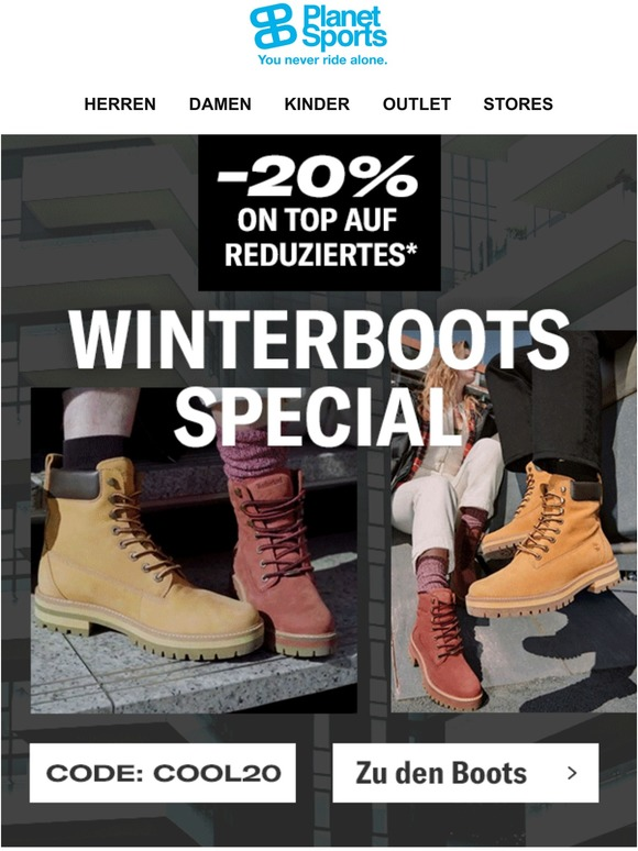 planet Trendsport & Fashion: Boot Up