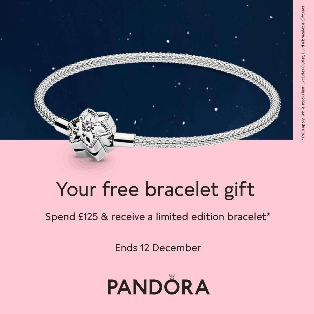 The Jewel Hut: Free Pandora Limited Edition Bracelet ✨ | Milled