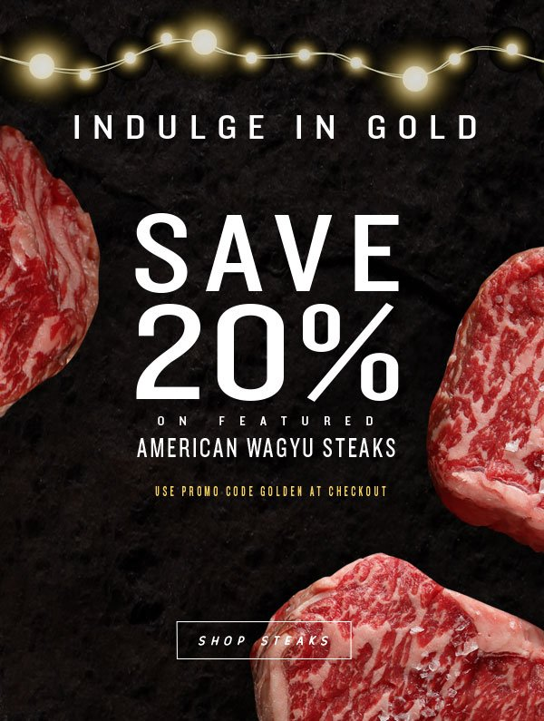 Snake River Farms 20 Off Featured Gold Grade American Wagyu Give The Gift Of Gold Milled