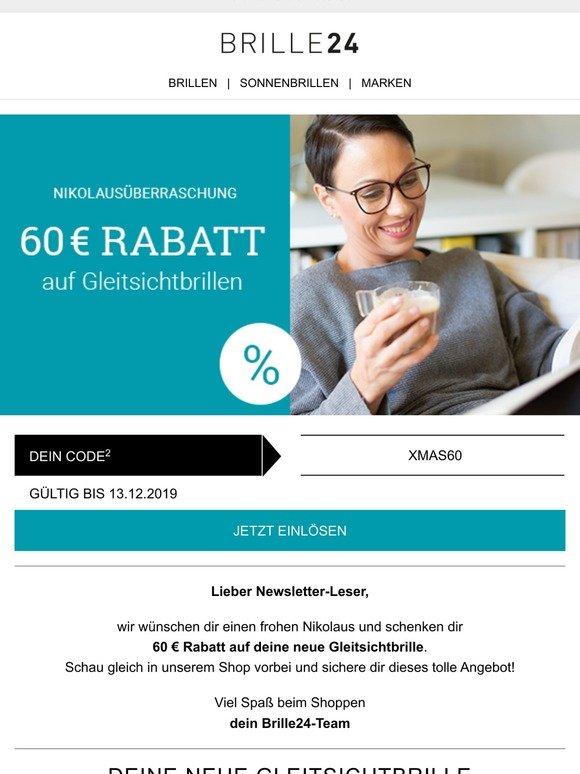 Brille24 De 60 Rabatt Auf Gleitsichtbrillen Milled