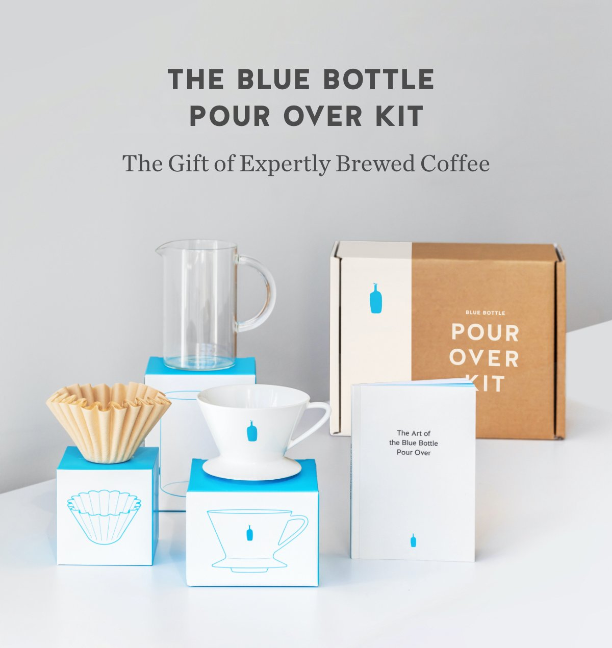 Blue Bottle Coffee New Our Pour Over Kit Milled