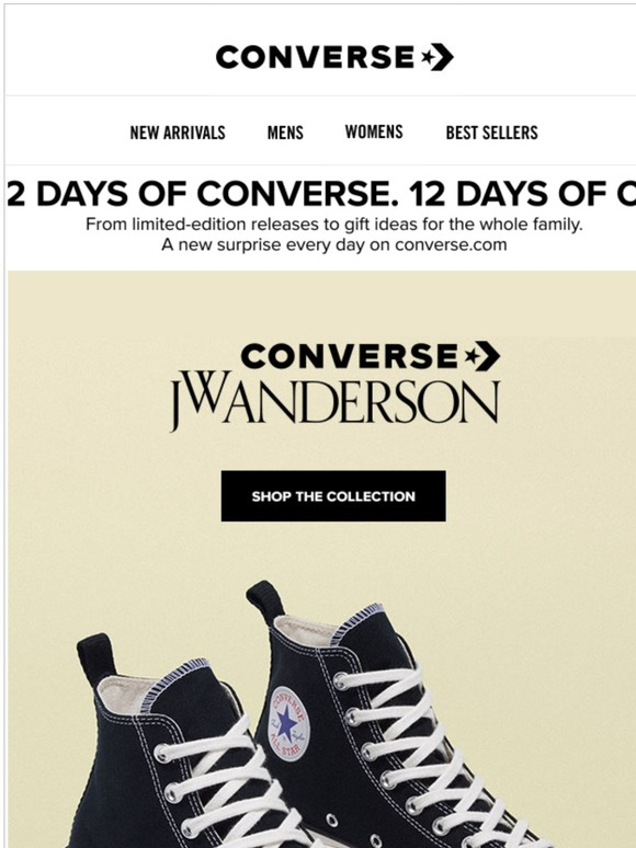 12 days of CONVERSE Day 12