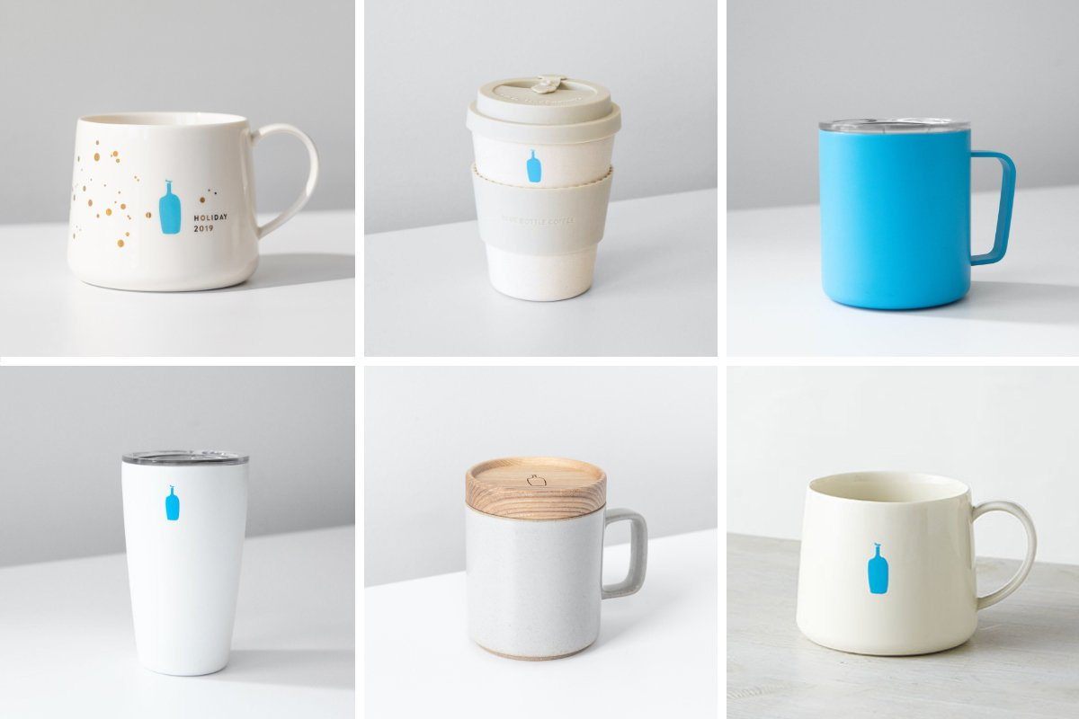 Blue Bottle Coffee Gift Worthy Cups Because Reuse Should Be Its Own Reward Milled