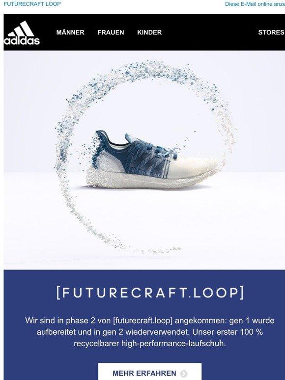 adidas' FUTURECRAFT.LOOP GEN 2 ist ein recycelbarer Laufschuh