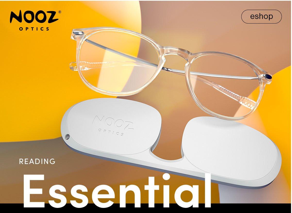 Image result for Nooz Optics - Reading Glasses Essential