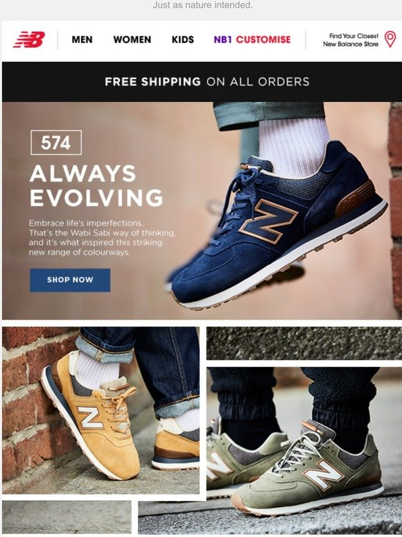 New Balance BENELUX: New 574 colours | Created with Wabi Sabi in ...