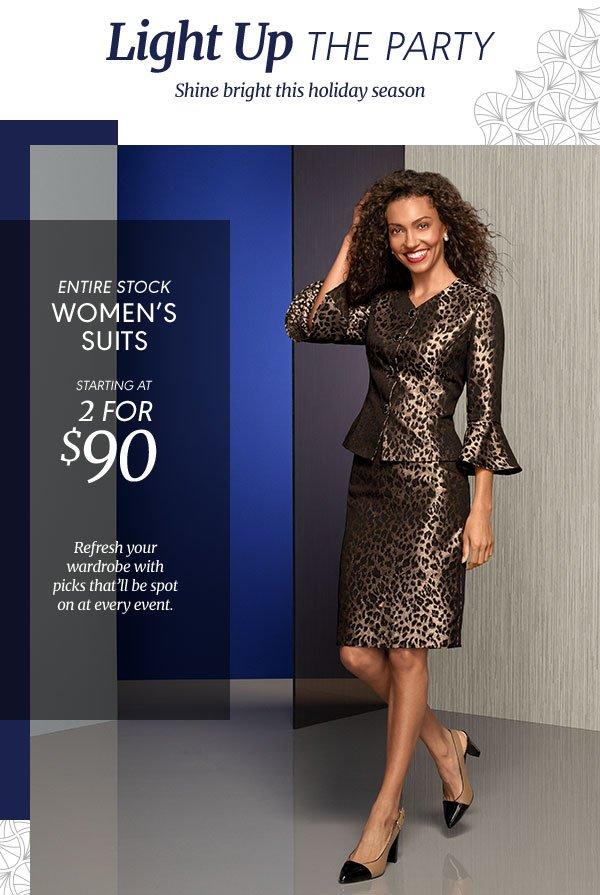 Dress up for elegant evenings ahead