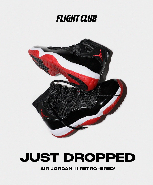 flight club: Air Jordan 11 Retro 'Bred