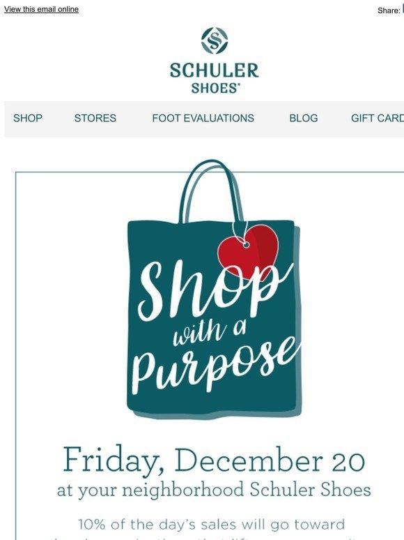 Schuler Shoes: Shop with a Purpose