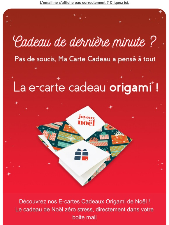 Ma Carte Cadeau Email Newsletters: Shop Sales, Discounts, and