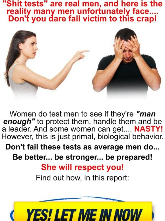 Test women shit The Truth